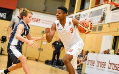 Norvell Oelling (Regnitztal Baskets / JBBL) - Copyright Brose Bamberg Youngsters – Lina Ahlf