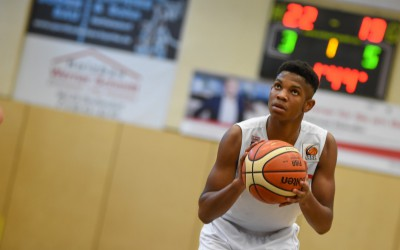 Norvel Oelling (Regnitztal Baskets / JBBL), Copyright Brose Bamberg Youngsters – Lina Ahlf