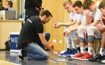 Head Coach Kevin Kositz (Regnitztal Baskets), Copyright Brose Bamberg Youngsters – Lina Ahlf