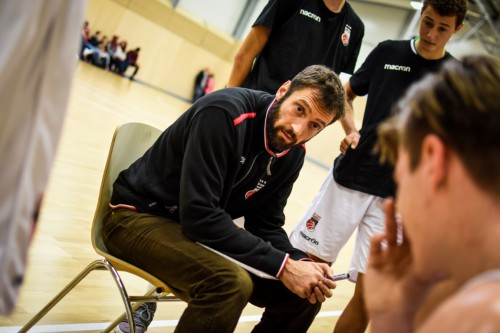 Head Coach Kevin Kositz (Regnitztal Baskets / JBBL), Copyright Brose Bamberg Youngsters – Lina Ahlf