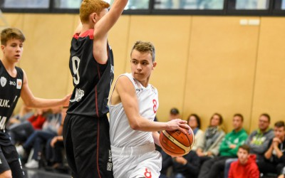 Louis Heinrich (Regnitztal Baskets / JBBL), Copyright Brose Bamberg Youngsters – Lina Ahlf